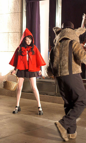 Meg White Is Hot Little Red Riding Hood The White Stripes