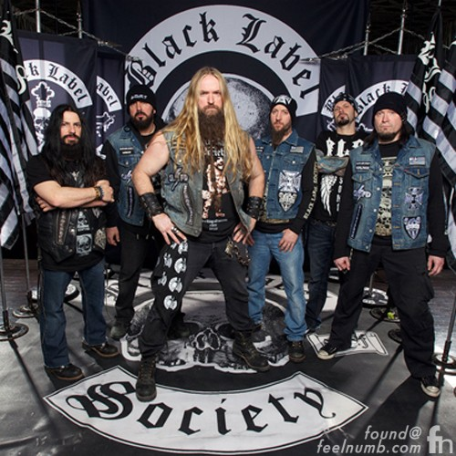 Black Label Society Bands With Word Black