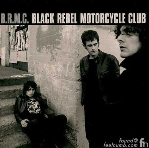 Black Rebel Motorcycle Club Bands With Word Black