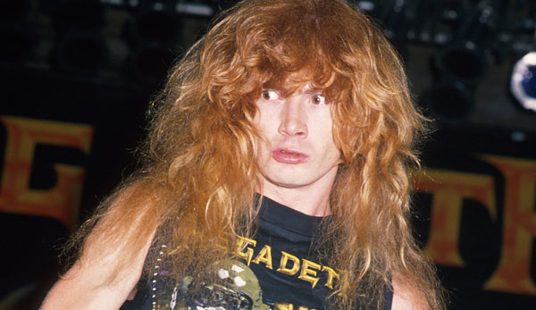 Dave Mustaine Wearing A Megadeath Shirt