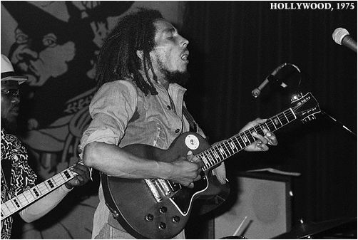 Bob Marley Roxy Theatre Los Angeles 1975 George Harrison