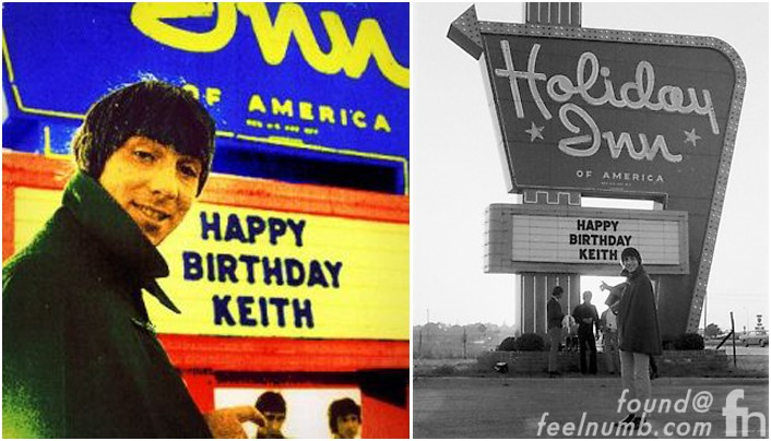 Keith Moon The Who 21st Birthday Party Holiday Inn Flint Michigan Pool