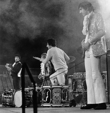 Keith Moon Atwood Stadium Flint Michigan 1967 Holiday Inn Pool