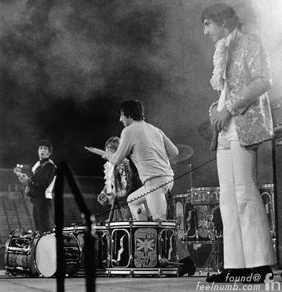 Keith Moon Birthday Party Atwood Stadium The Who Concert