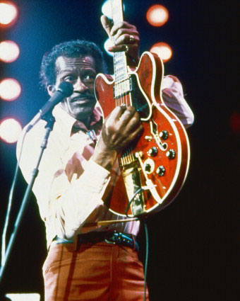 Chuck Berry Gibson ES-335 Marty McFly Guitar Back To The Future