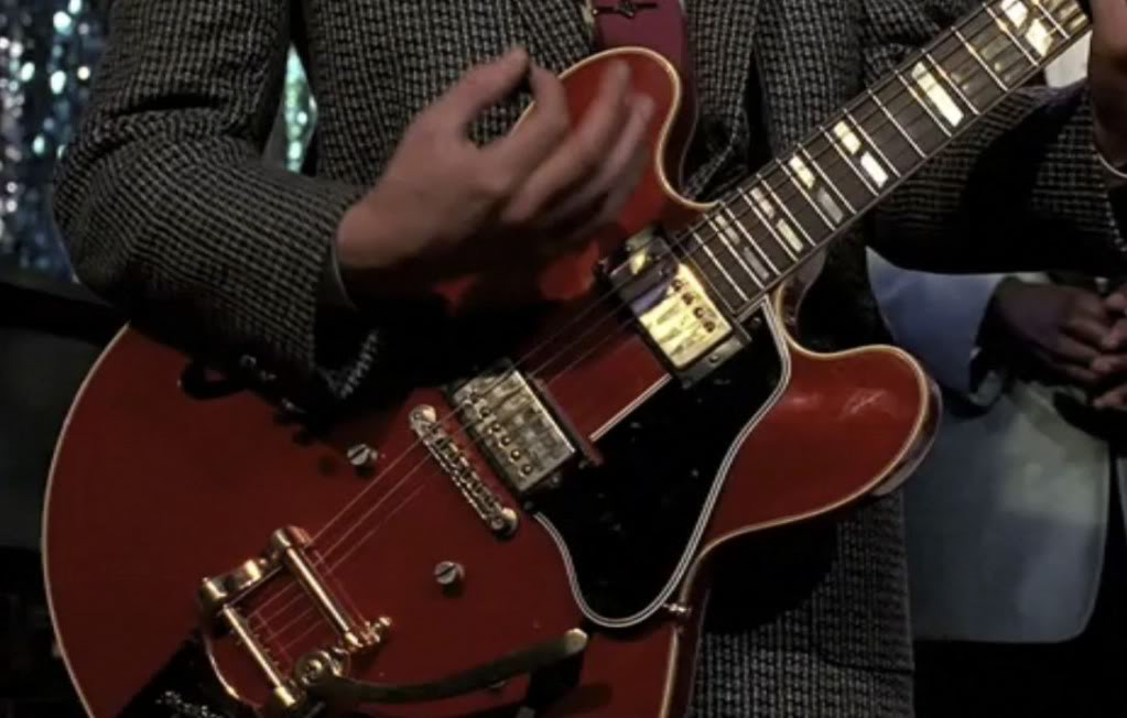 Back To The Future ES-335 Gibson Guitar Marty McFly
