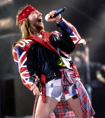 Axl Rose British Flag Union Jack Guns N' Roses