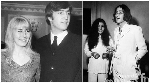 John Lennon Wife Wives Cynthia Lennon Powell Yoko Ono