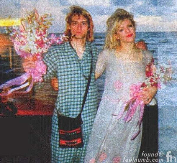 Dave Grohl Was One Of Eight Guests At Kurt Cobain & Courtney Love\'s ...