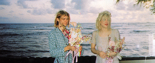 Kurt Cobain Courtney Love Wedding Hawaii Nirvana