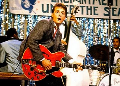Marty McFly Guitar Back To The Future Gibson ES-345 Michael J. Fox