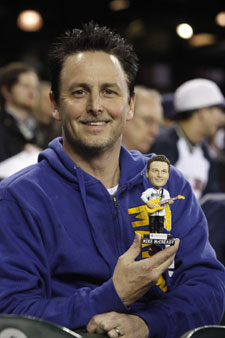 Mike McCready Seattle Mariners Pearl Jam Bobblehead Night