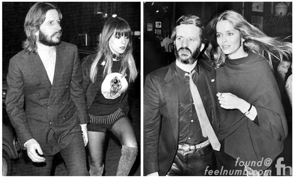 Ringo Starr Starkey Maureen Cox Barbara Bach The Beatles