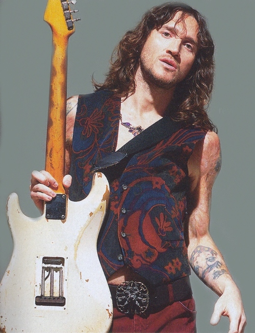 Red Hot Chili Peppers John Frusciante White Stratocaster
