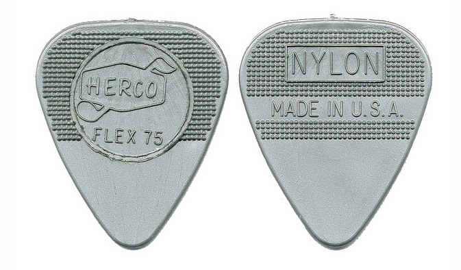 Jimmy Page Guitar Pick Herco Flex 75