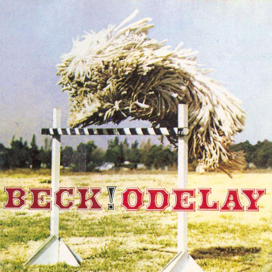 "Albums: Beck ""Odelay"" Really Strange Album Cover"