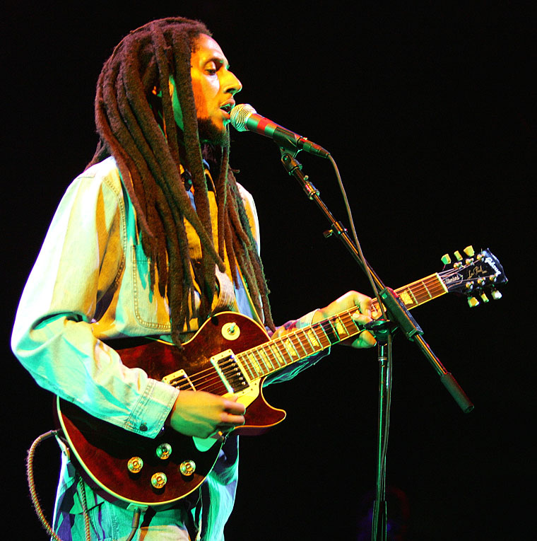 Julian Marley born June 4, 1975 (with Lucy Pounder)