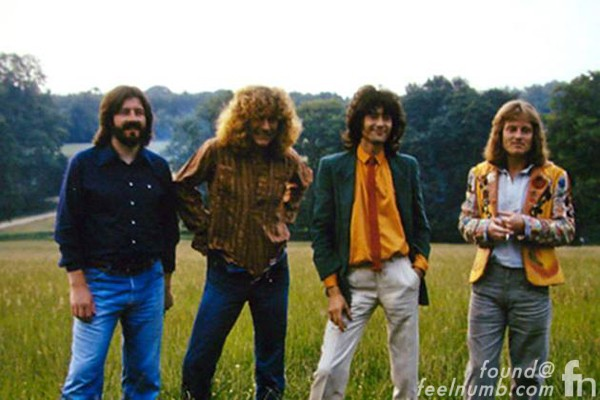 Led Zeppelin 1979 Knebworth Photo Session Robert Plant Exposed