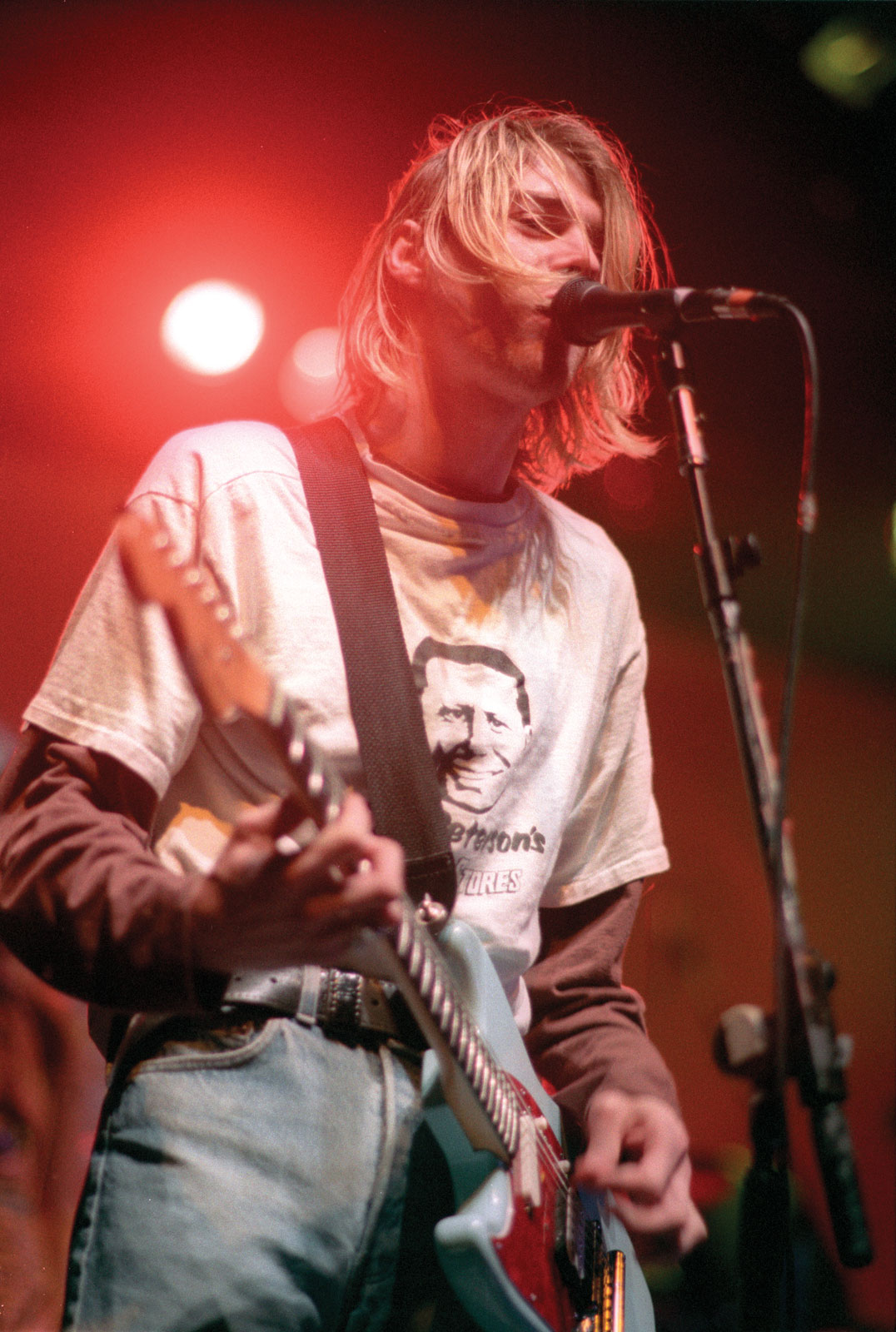 Kurt Cobain Tom Peterson Shirt Watch Nirvana
