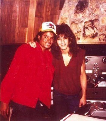 Eddie Van Halen Beat It Michael Jackson Live In Studio