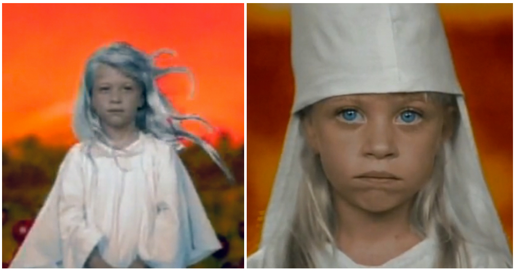 Breanne Brieann O'Connor Kurt Cobain Sister Nirvana Heart Shaped Box Video
