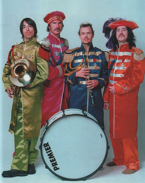 The Beatles Red Hot Chili Peppers Sgt, Pepper