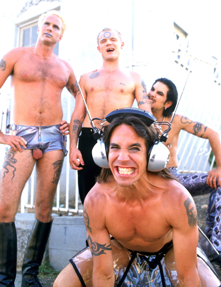 Chad Smith Balls Red Hot Chili Peppers