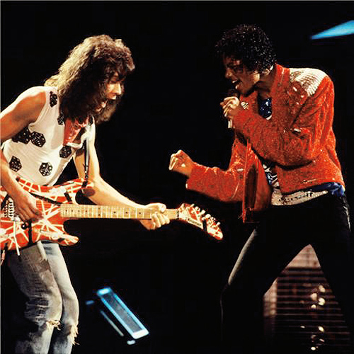 Eddie Van Halen Beat It Michael Jackson Victory Tour