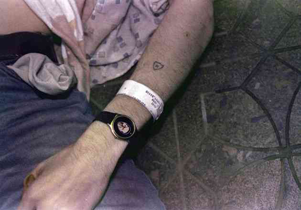 Kurt Cobain Suicide Tom Peterson Watch 1994