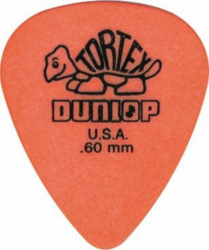 Kurt Cobain Orange Dunlop Guitar Pick Nirvana