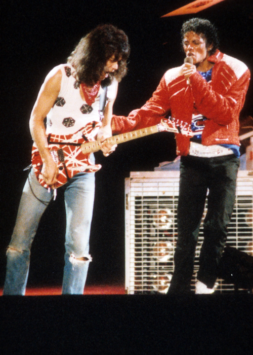 Eddie Van Halen Beat It Live Michael Jackson The Jacksons