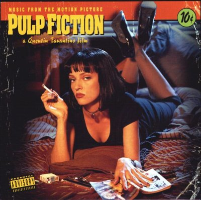 Pulp Fiction Soundtrack Nirvana Thank You R.I.P. Kurt Quentin Tarantino