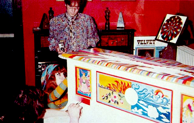 John Lennon The Fool Piano George Harrison Friar Park