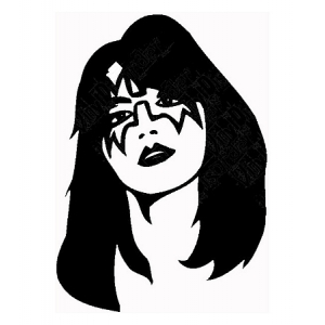 Ace Frehley Sticker Foo FIghters Kiss Chris Shiflett
