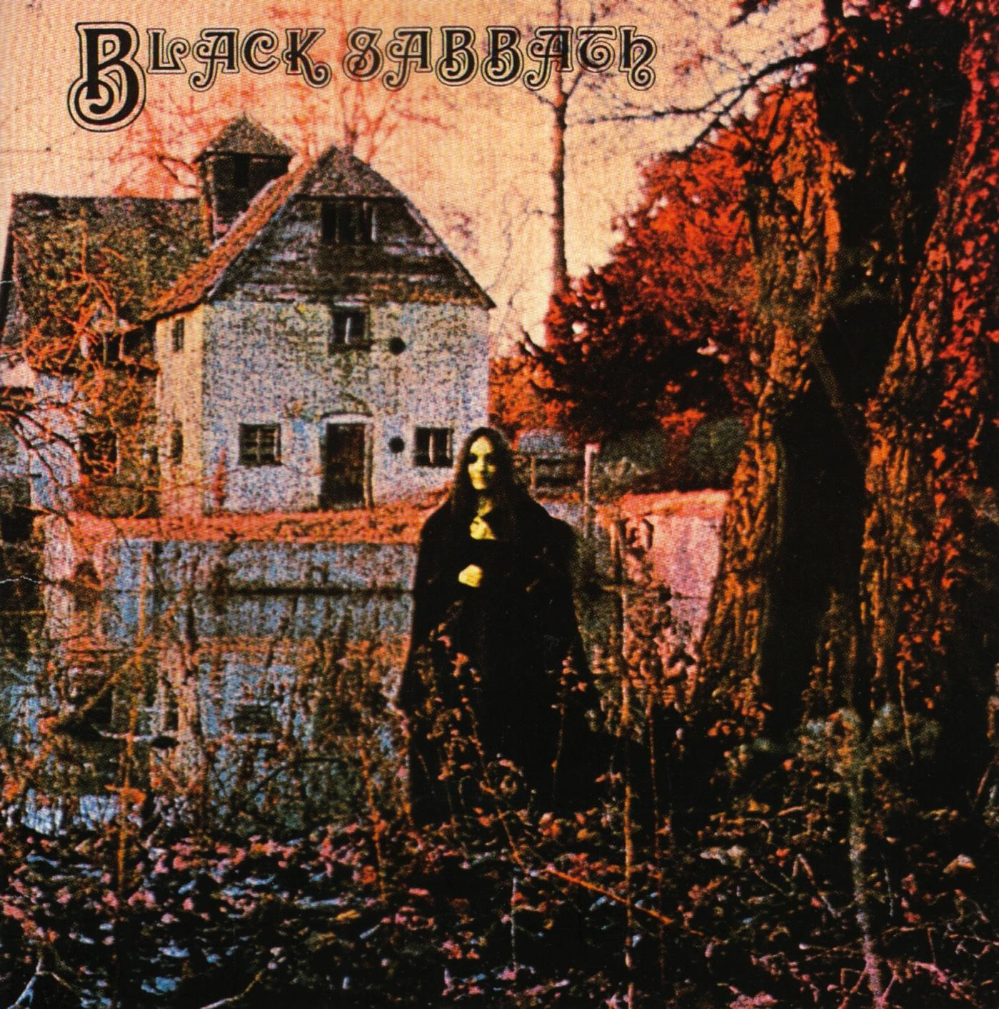 Black Sabbath Debut Album Cover Location Mapledurham Sawmill