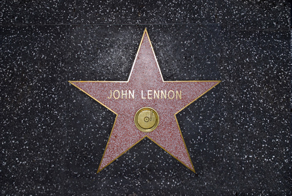 John Lennon Hollywood Walk Of Fame