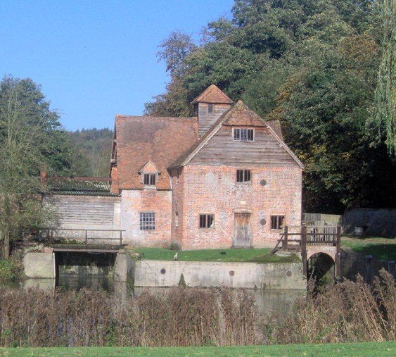 Mapledurham Watermill Black Sabbath Album Cover Photo