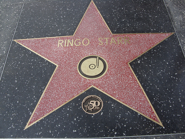 Ringo Starr Hollywood Walk Of Fame Star