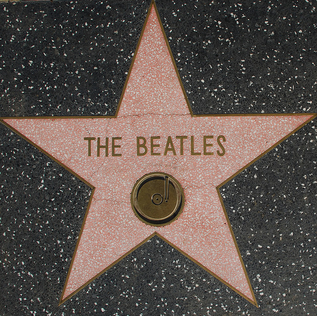 The Beatles Star Hollywood Walk Of Fame