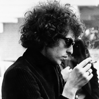 Bob Dylan John Lennon Smoking Together