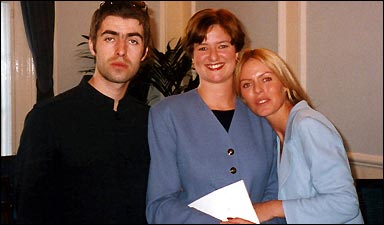 Liam Gallagher Patsy Kensit Wedding Westminster Register Office Marylebone