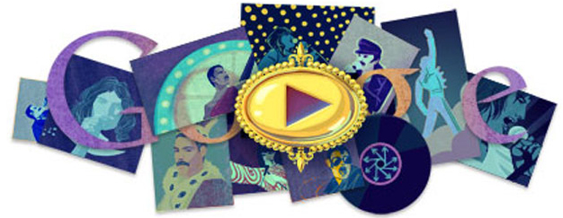 Google Freddie Mercury Homepage September 5, 2011 Queen