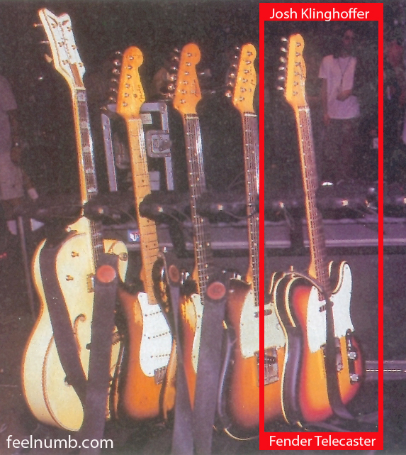 John Frusciante Red Hot Chili Peppers Guitar Rack Josh Klinghoffer Telecaster