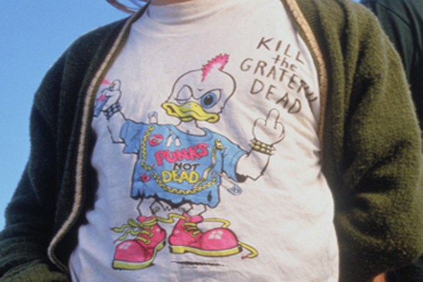 Kill The Grateful Dead Kurt Cobain_Shirt