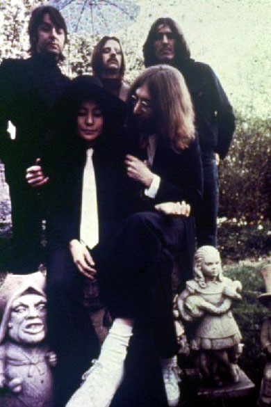 Yoko Ono The Beatles Photos