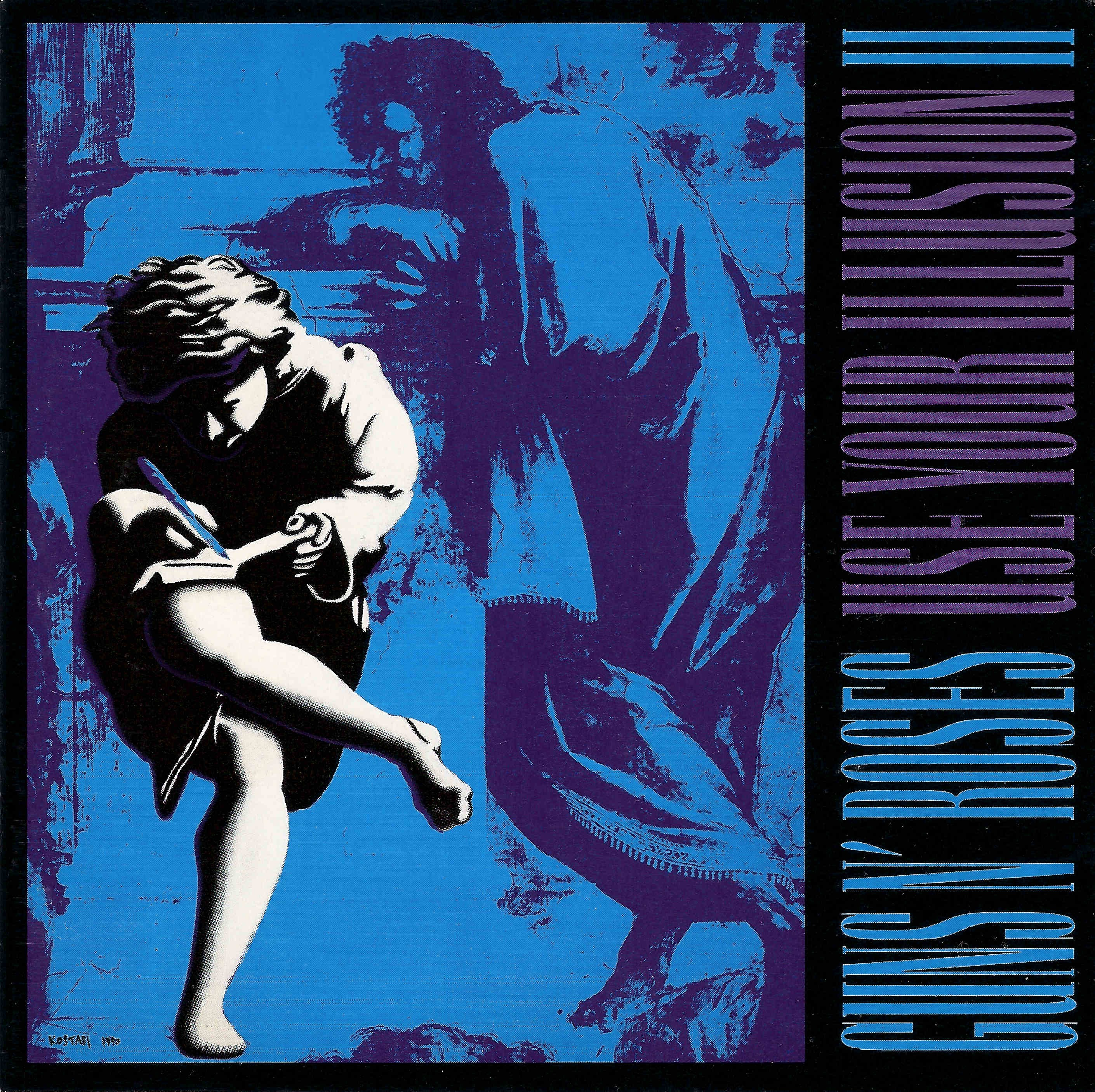 Use Your Illusions II Album Cover Raphael Guns N' Roses Painting School Of Athens