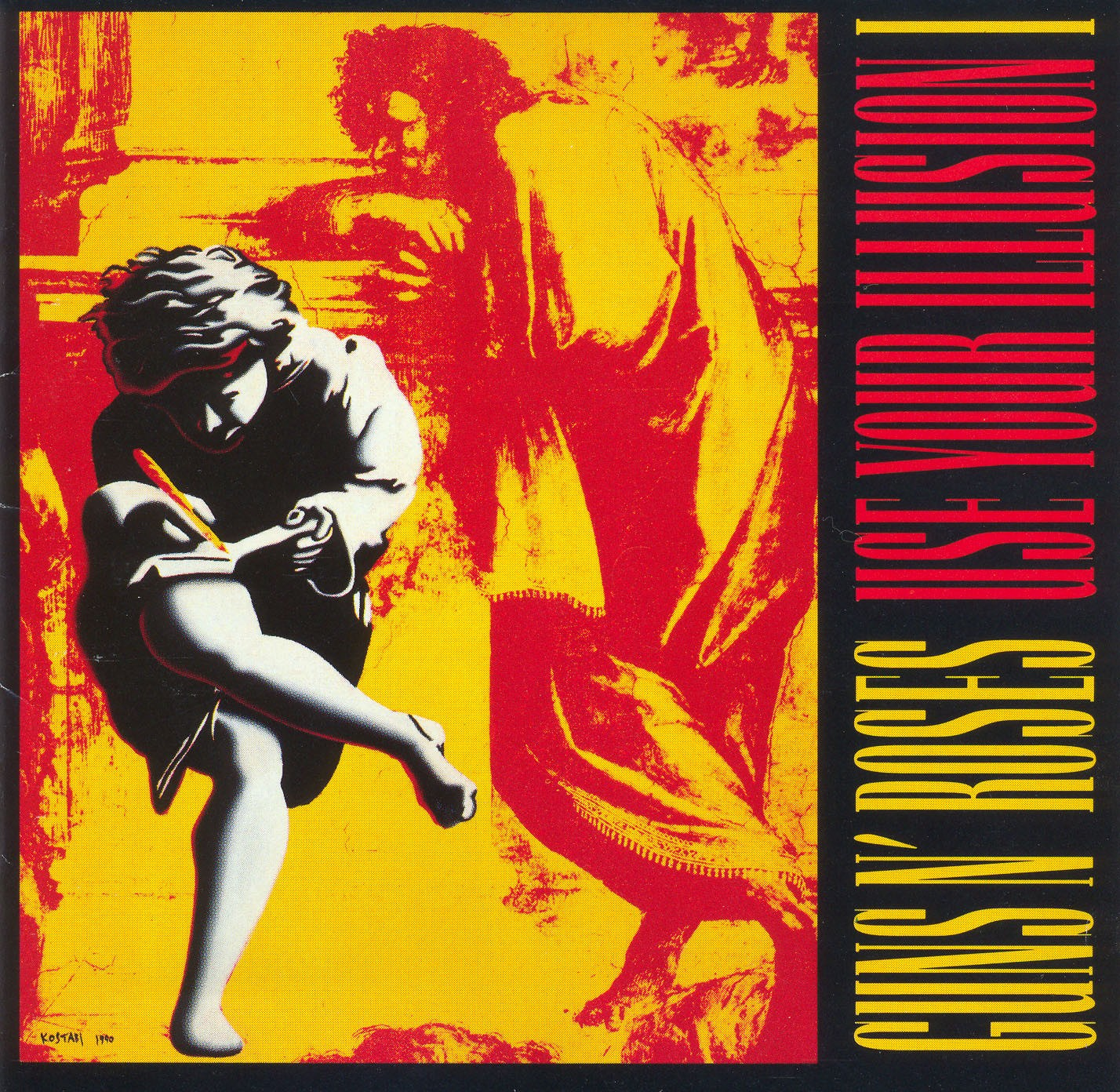 Use Your Illusions I Album Cover Raphael Guns N' Roses Painting School Of Athens