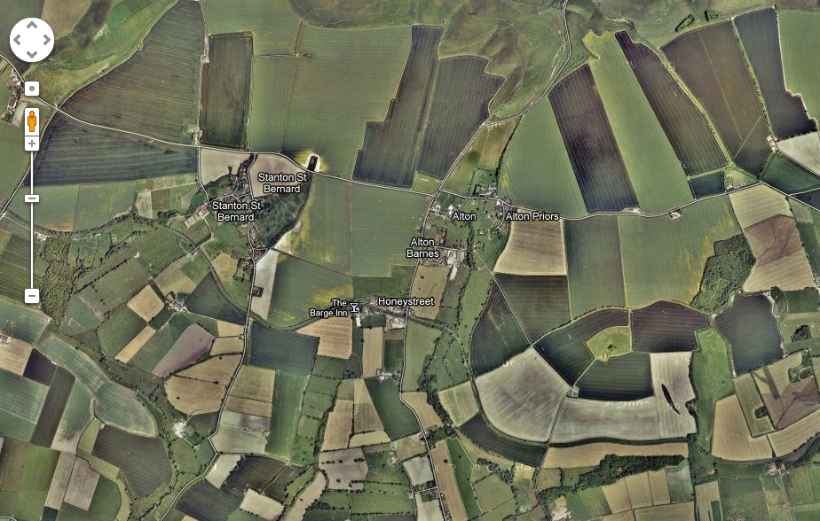 Wiltshire Alton Barnes Crop Circles Google UK England