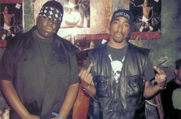 Biggie Smalls Tupac Shakur 2Pac Notorious B.I.G.