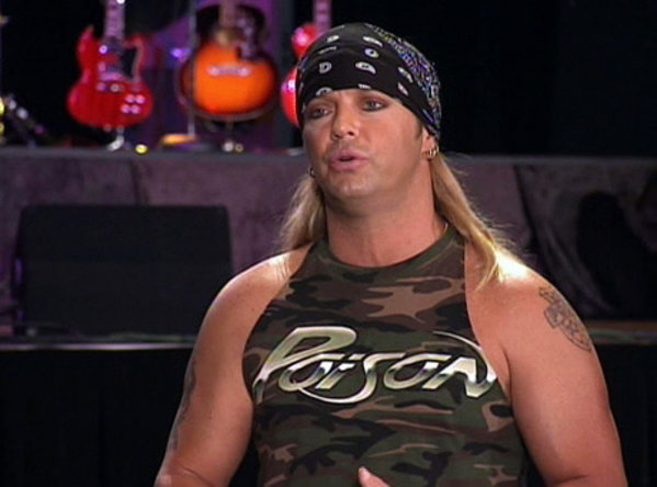 Bret Michaels Posion Wearing Band Shirt Merch